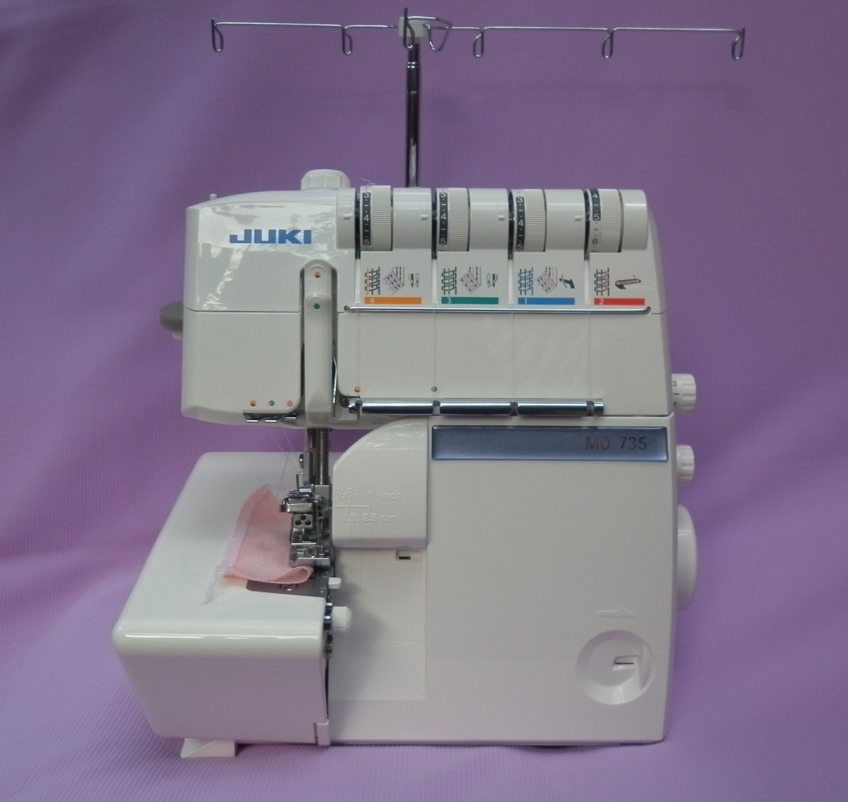 Коверлок JUKI MO 735 ( оверлок - распошивалка ), многофункциональный швейный центр