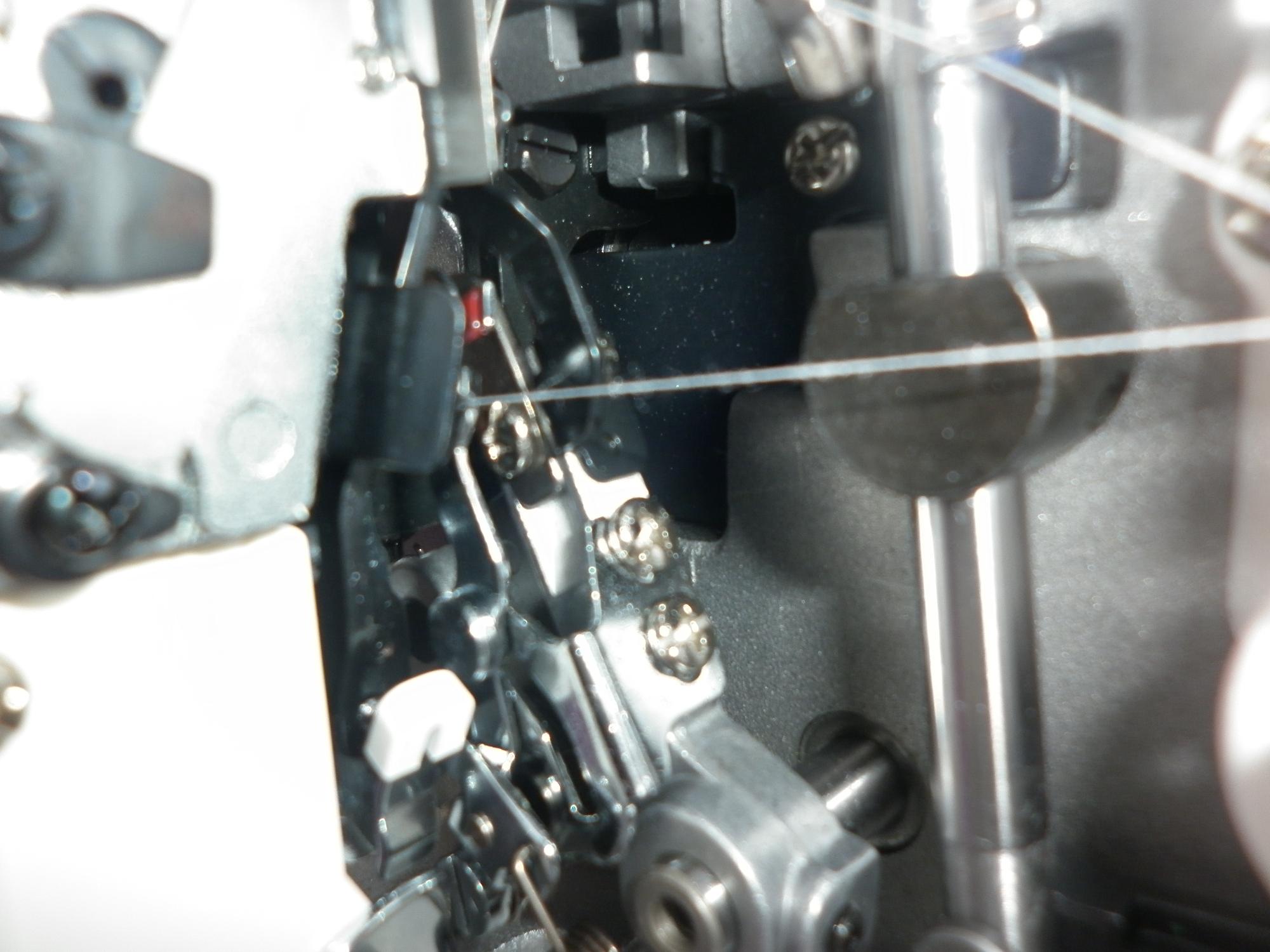 Коверлок JUKI MO 735 ( оверлок - распошивалка ), техническое обслуживание, чистка, смазка.